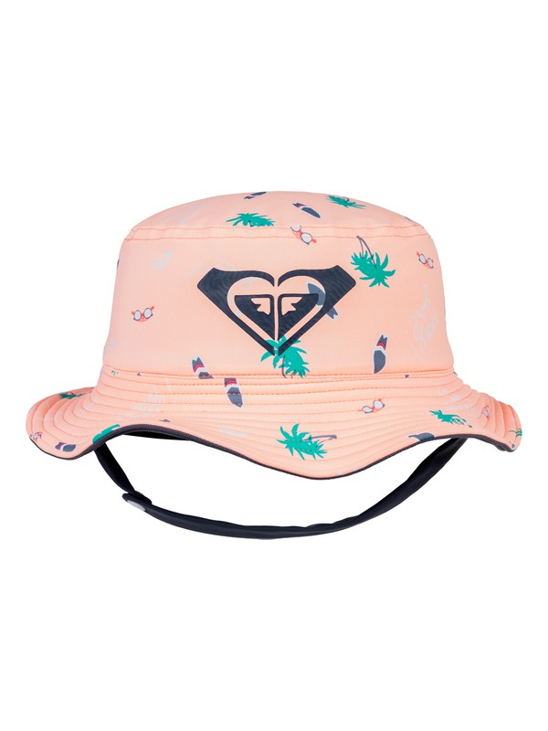0 Girl's 2-6 Bobby Bucket Hat Pink ERLHA03057 Roxy