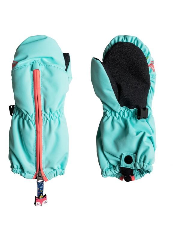 0 Girl's 7-14 Girls 2-6 Snow's Up Snowboard/Ski Mittens  ERLHN03003 Roxy