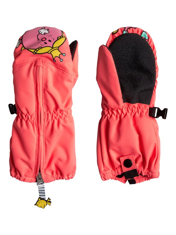 0 Girl's 7-14 Snow's Up Little Miss Snowboard/Ski Mittens  ERLHN03004 Roxy
