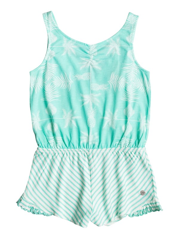 0 Girls 2-6 Act Like You're Alone Strappy Romper  ERLKD03028 Roxy