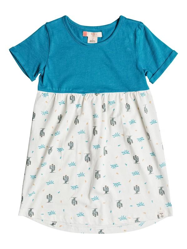 0 Girls 2-6 Thunder Cat Short Sleeve Dress  ERLKD03033 Roxy