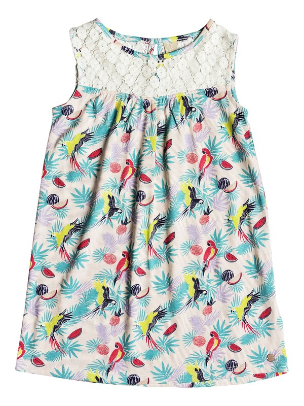 0 Girls 2-6 Single Soul  Sleeveless Dress Pink ERLKD03042 Roxy