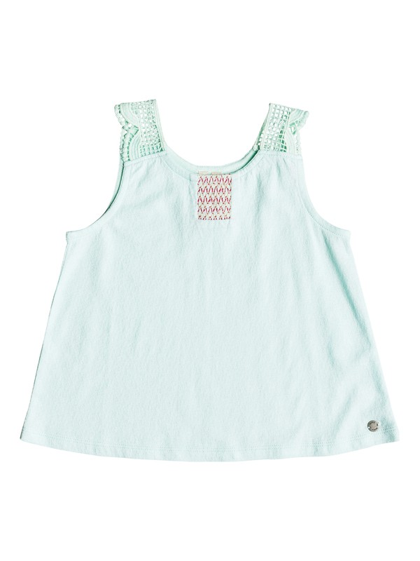 0 Girl's 2-6 Feeling Alive Tank Top Blue ERLKT03053 Roxy