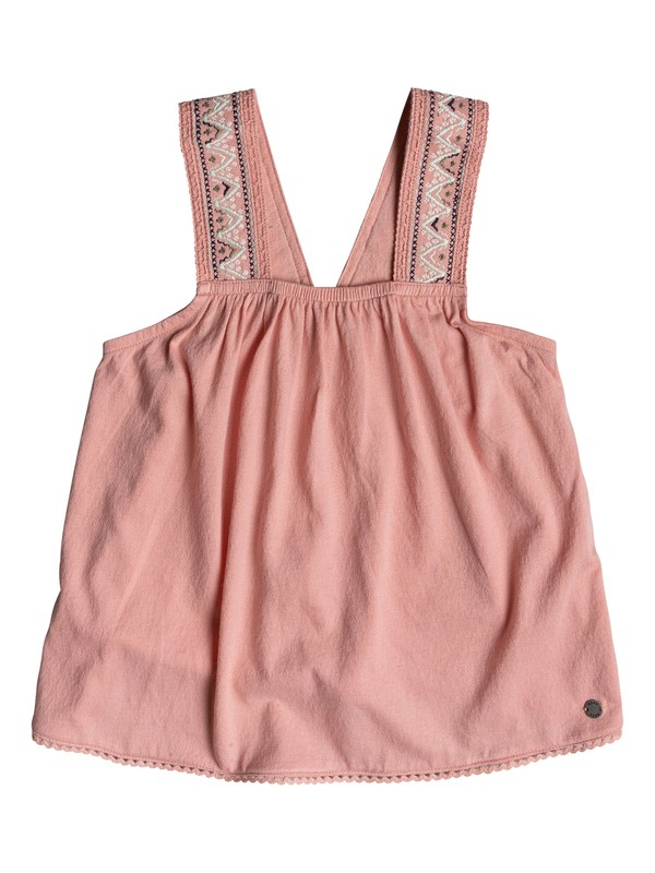 0 Girls 2-6 Breezy Nights Strappy Top Pink ERLKT03056 Roxy