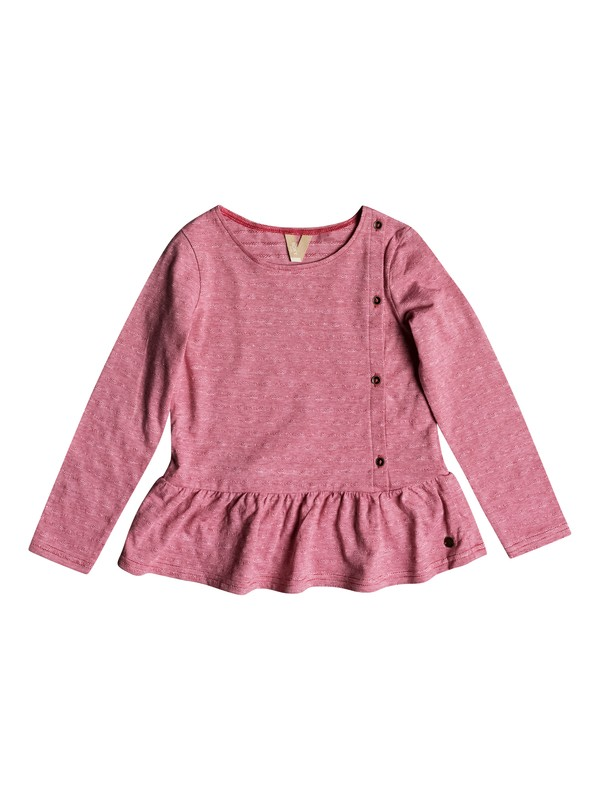 0 Niñas 2-6 Camiseta Manga Larga Love Is Bright Rosa ERLKT03059 Roxy