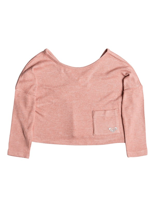 0 Girl's 2-6 Your Time Long Sleeve Top Pink ERLKT03063 Roxy