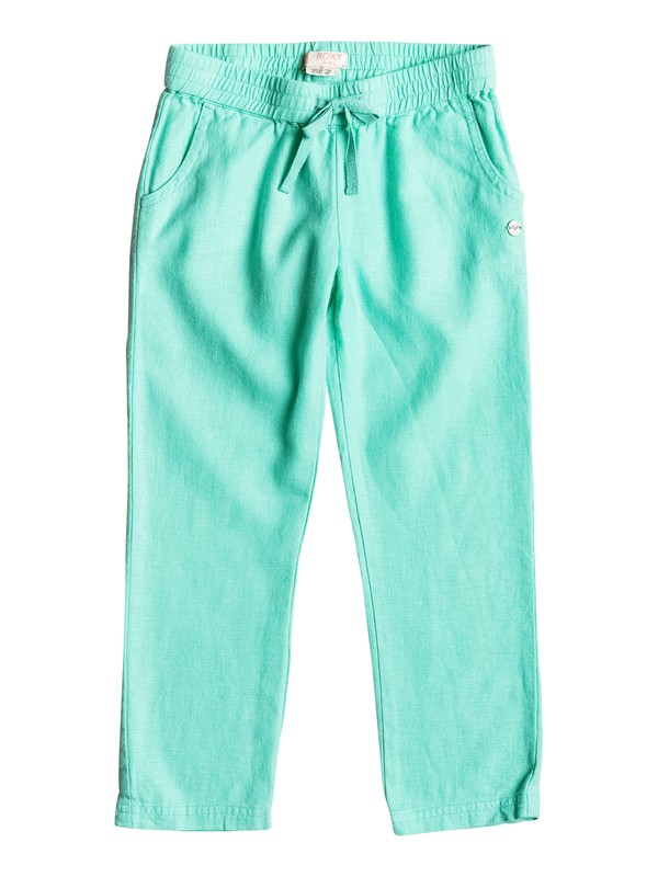 0 Friendly People - Slim Leg Trousers  ERLNP03014 Roxy