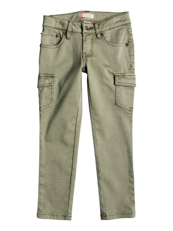 0 Girls 2-6 Cecilcargo Cargo Pants  ERLNP03016 Roxy