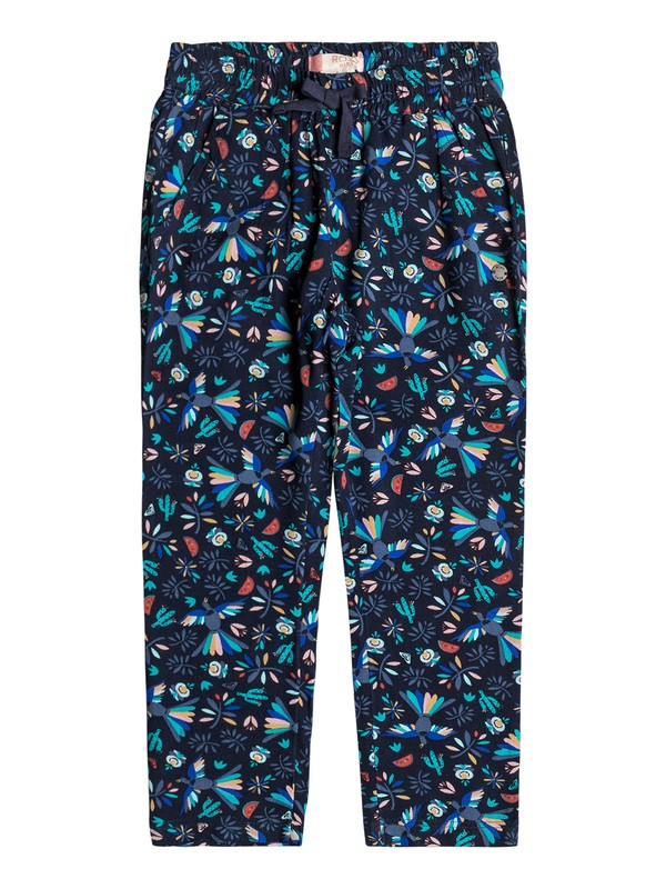 0 Girls 2-6 Let's Just Go Beach Pants  ERLNP03020 Roxy