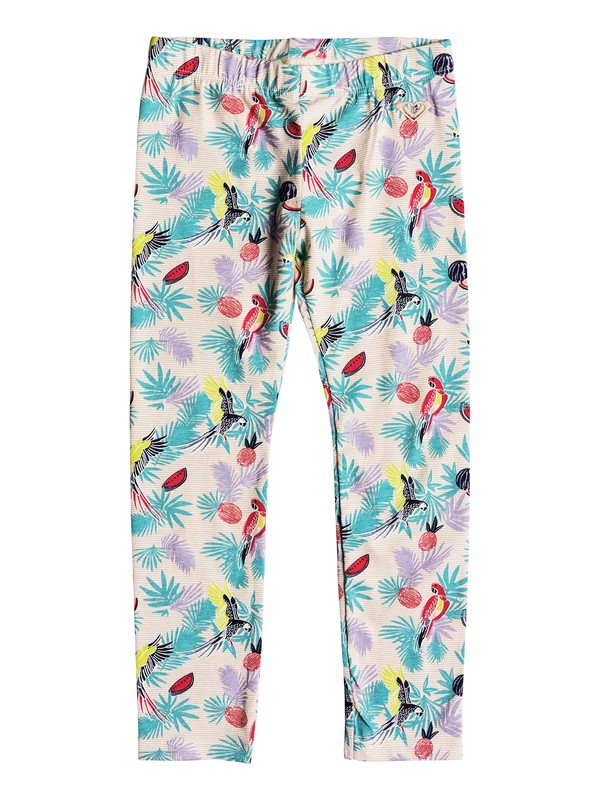 0 Girls 2-6Fine Feathers Leggings  ERLNP03021 Roxy