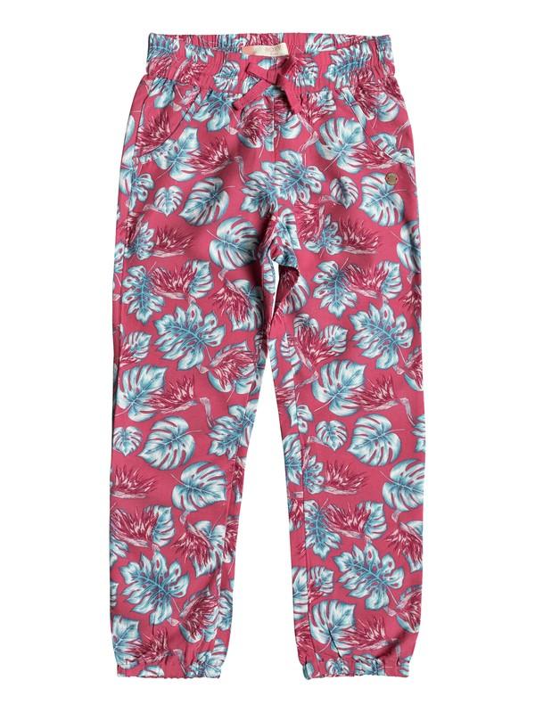 0 Girls 2-6 Calm Skies  Beach Pants Pink ERLNP03023 Roxy