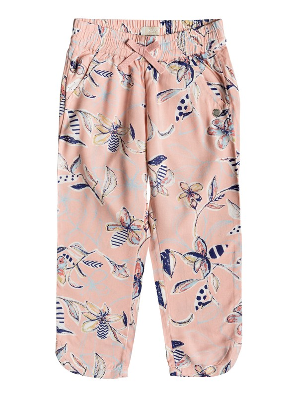 0 Girl's 2-6 Girls 2-6 Believer Beach Pants Pink ERLNP03028 Roxy