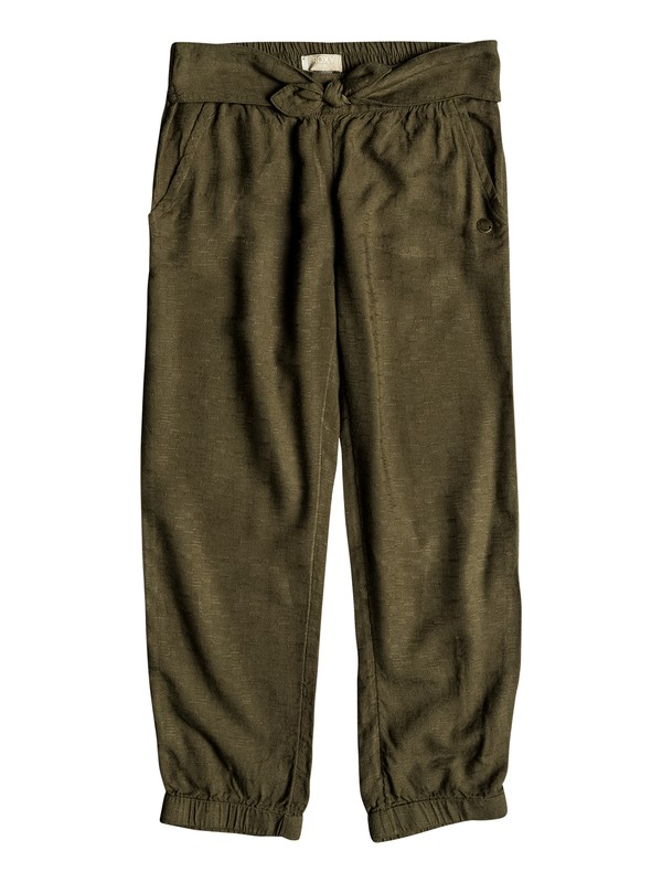 0 Niñas 2-6 Pantalones de Playa Getting Greater Verde ERLNP03029 Roxy