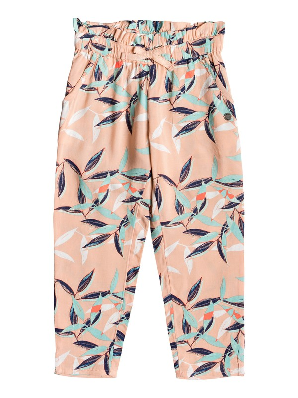 0 Girl's 2-6 Your Life Viscose Pants Pink ERLNP03036 Roxy