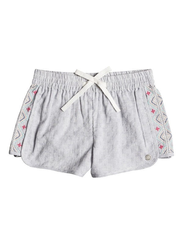 0 Girl's 7-14 Wealthy And Wise Beach Shorts  ERLNS03015 Roxy