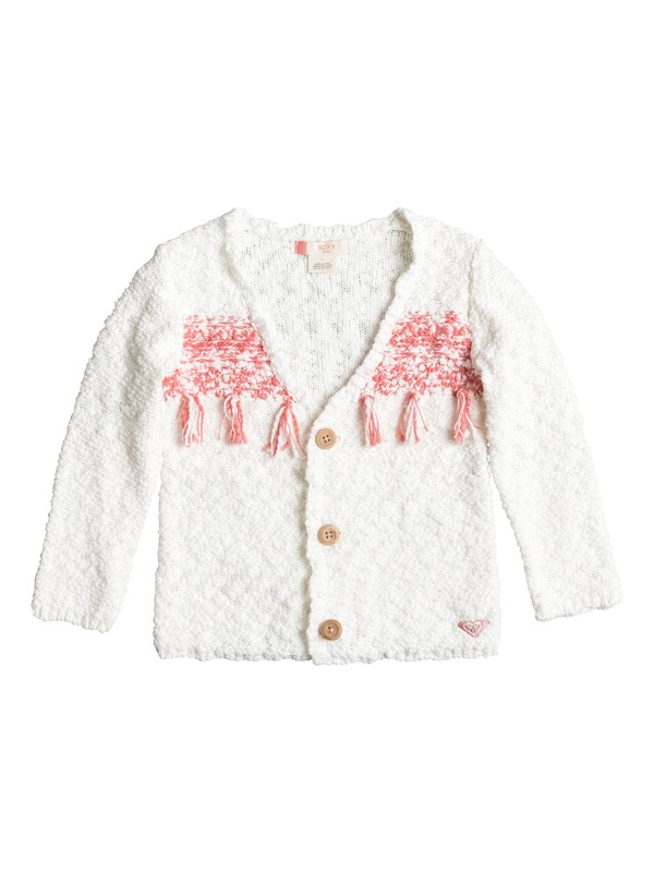 0 Girls 2-6 Jesper Out Button Up Sweater  ERLSW03015 Roxy