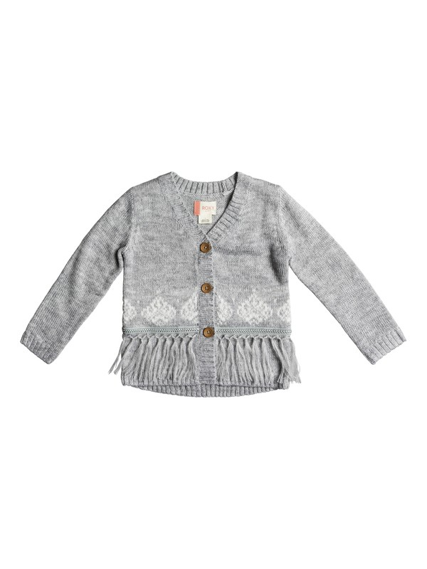 0 Girl's 2-6 Miles From You Cardigan  ERLSW03020 Roxy