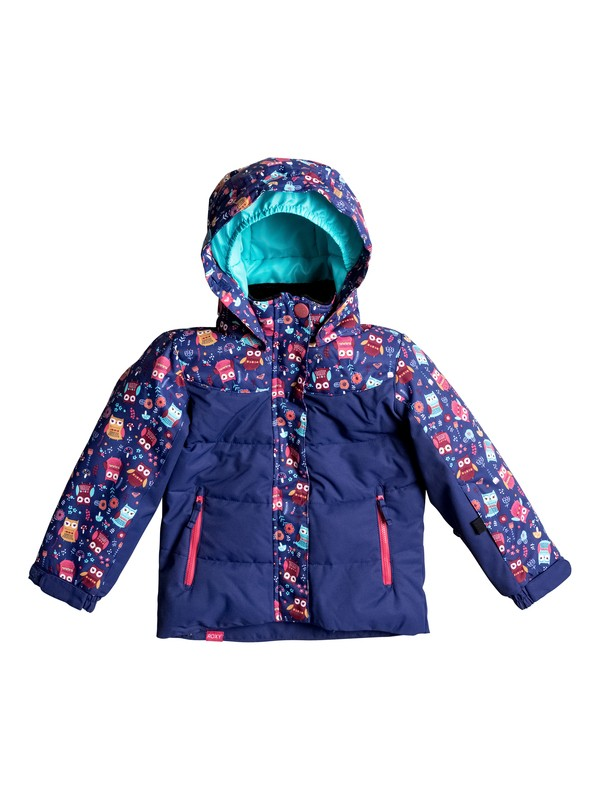 0 Girls 2-6 Anna Snow Jacket  ERLTJ03003 Roxy