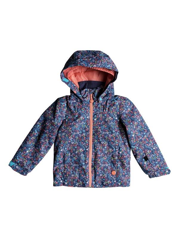 0 Girls 2-6 Mini Jetty Snow Jacket Blue ERLTJ03009 Roxy