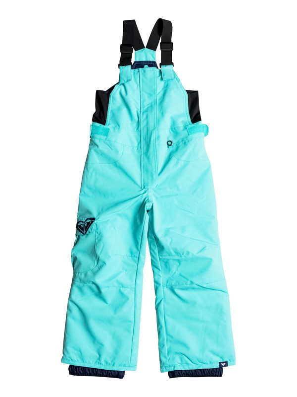 0 Girls 2-6 Lola Bib Snow Pants Blue ERLTP03001 Roxy