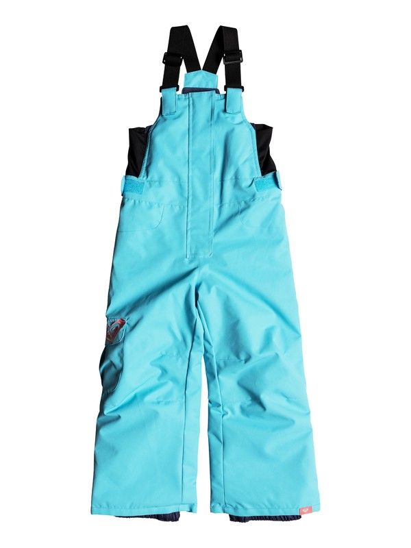 0 Girls 2-6 Lola Snow Bib Pants Blue ERLTP03005 Roxy