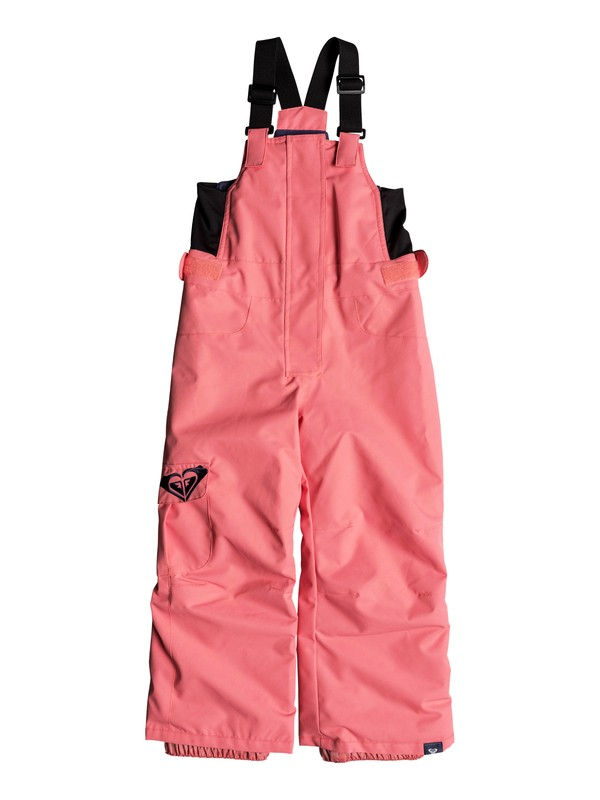 0 Girl's 2-6 Lola Snow Bib Pants Pink ERLTP03005 Roxy