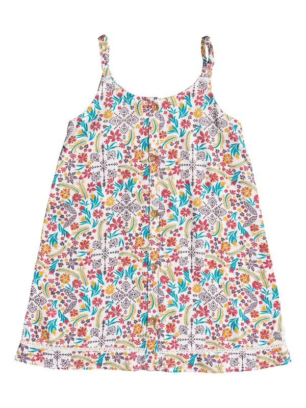 0 Girl's 2-6 Dancing In The Sun Strappy Dress  ERLWD03027 Roxy
