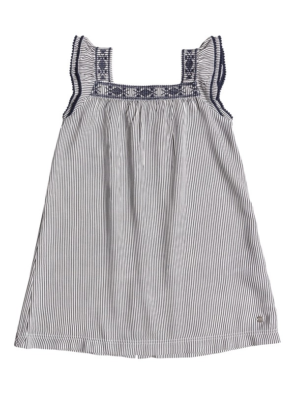0 Girls 2-6 Tropics Culture Cap Sleeve Dress  ERLWD03031 Roxy