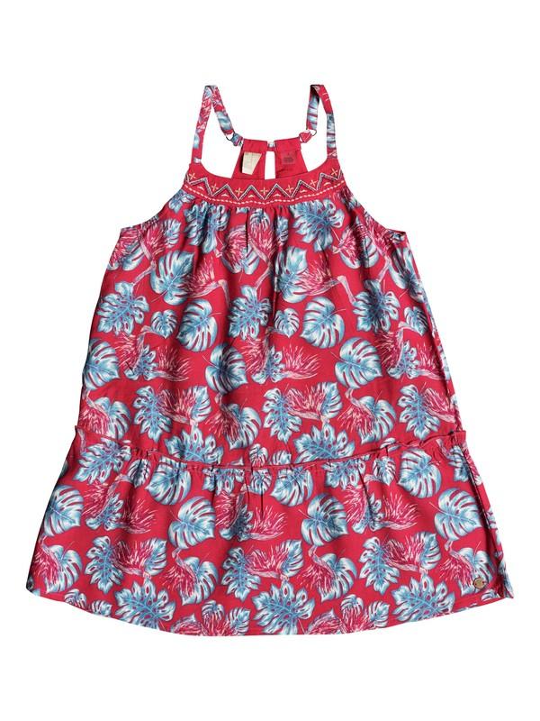 0 Girl's 2-6 Boomerang Love Strappy Dress Pink ERLWD03037 Roxy