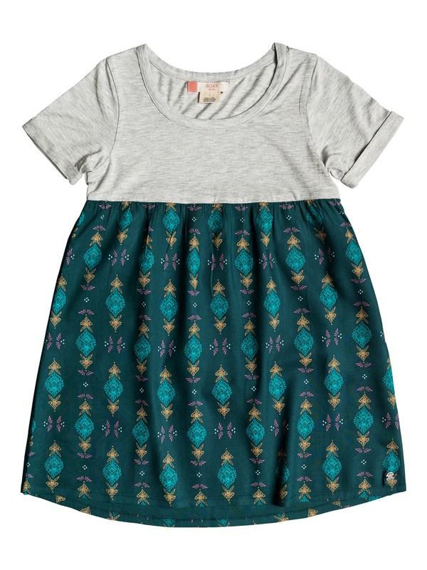 0 Girl's 2-6 Branche Of Lilac Short Sleeve Dress  ERLWD03040 Roxy