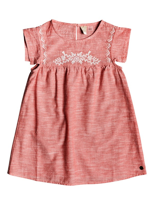 0 Girl's 2-6 Let It Shine Short Sleeve Dress Pink ERLWD03048 Roxy