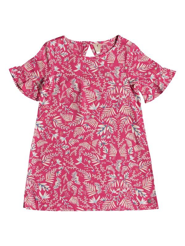 0 Girl's 2-6 Sea Oxygen Short Sleeve Dress Pink ERLWD03051 Roxy