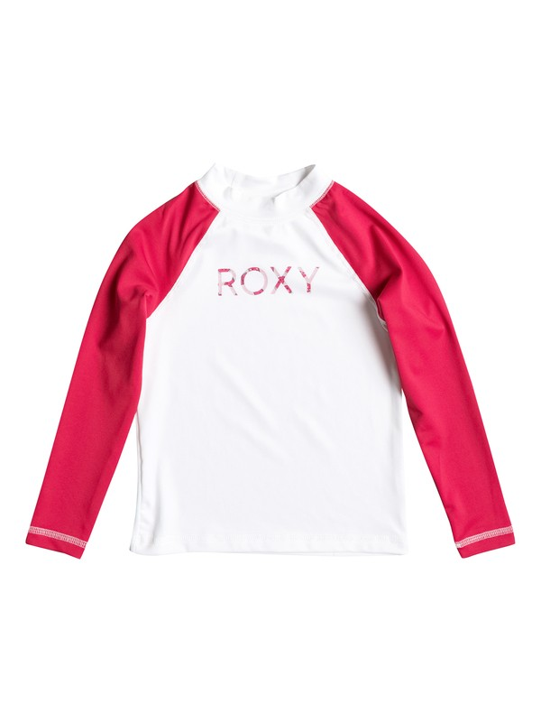 0 Girls 2-6 Sail Away Long Sleeve Rashguard  ERLWR03008 Roxy
