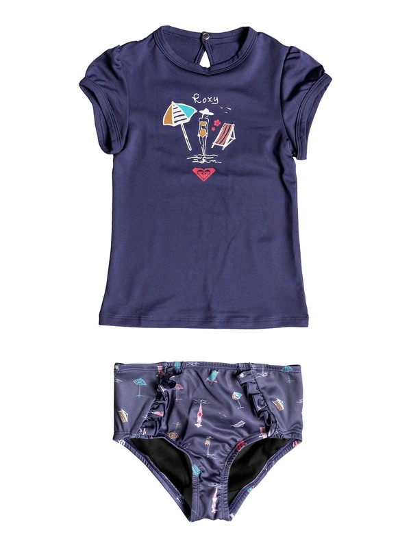 0 TROPICOOL SUNSHINE CS SET Azul ERLWR03068 Roxy
