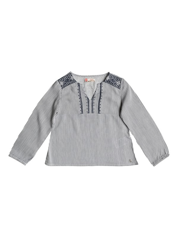 0 Girl's 7-14 Old Peak Long Sleeve Top  ERLWT03016 Roxy