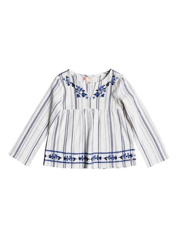 0 Girl's 2-6 Extra Guaca Long Sleeve Top  ERLWT03018 Roxy