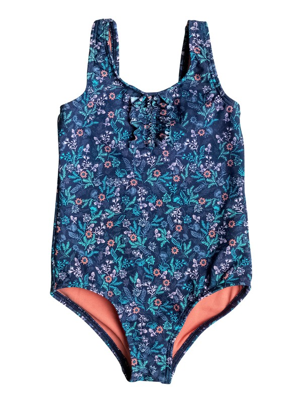 0 Girls 2-6 Beach Bound One Piece Swimsuit  ERLX103014 Roxy
