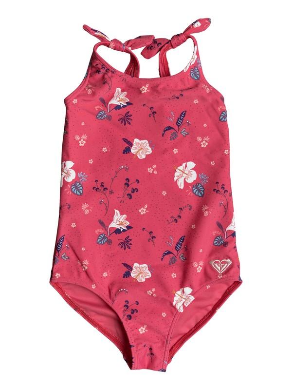 0 Girl's 2-6 ROXY Mermaid One-Piece Swimsuit Pink ERLX103022 Roxy
