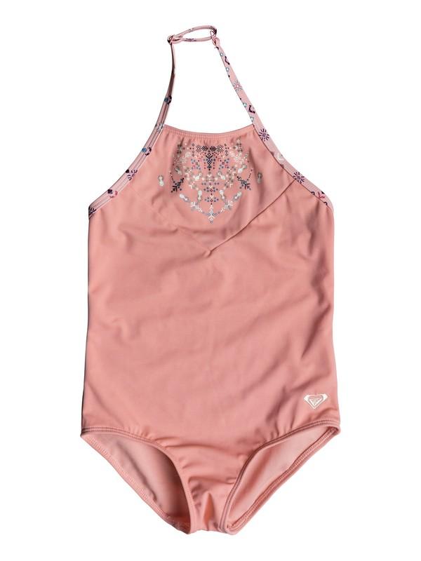 0 Girls 2-6 Boho One Piece Swimsuit Pink ERLX103025 Roxy