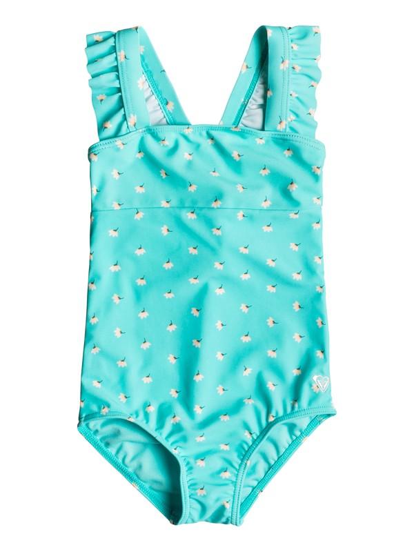 0 Girls 2-6 Baby Saguaro One Piece Swimsuit Blue ERLX103026 Roxy