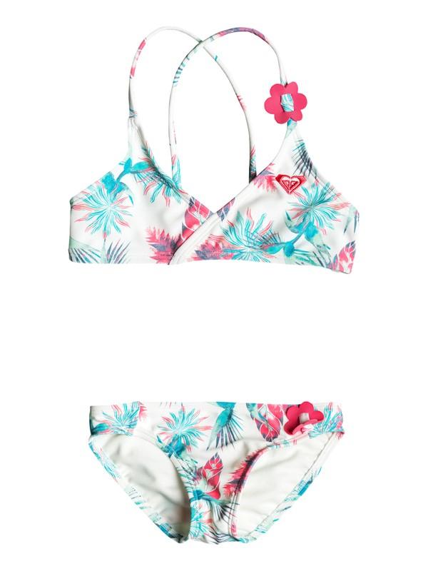 0 Girls 2-6 Tropical Days Athletic Bikini Set  ERLX203025 Roxy