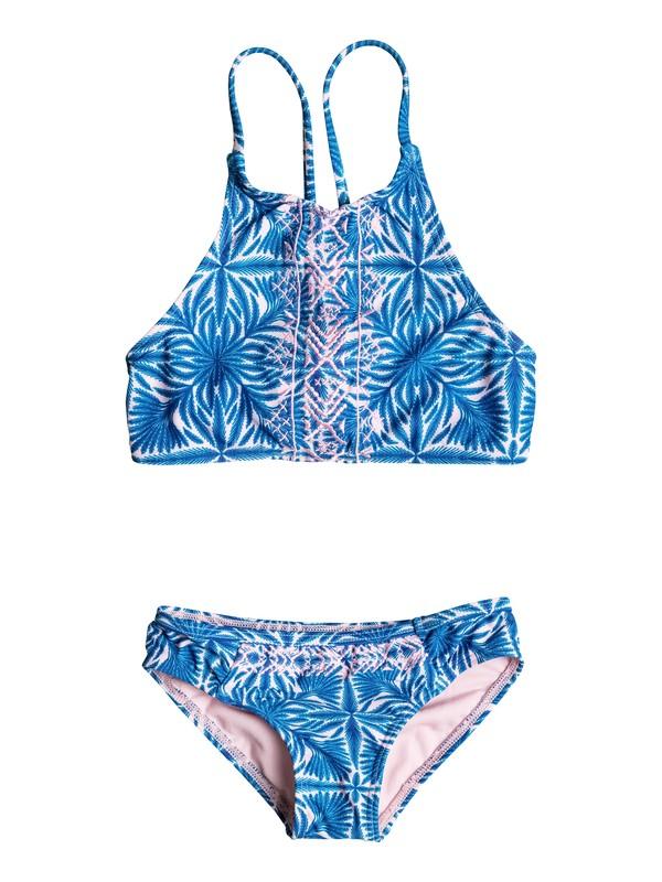 0 Girls 2-6 Sunny Dreams Crop Top Bikini Set  ERLX203027 Roxy