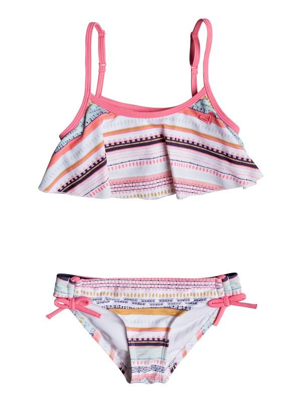 0 Girls 2-6 Little Indi Flutter Bikini Set  ERLX203043 Roxy