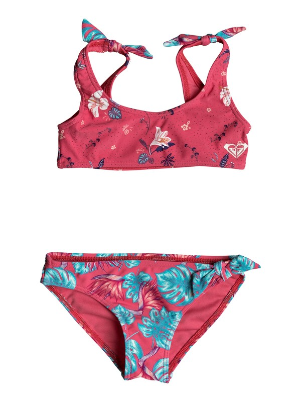 0 Girl's 7-14 ROXY Mermaid Athletic Bikini Set Pink ERLX203044 Roxy