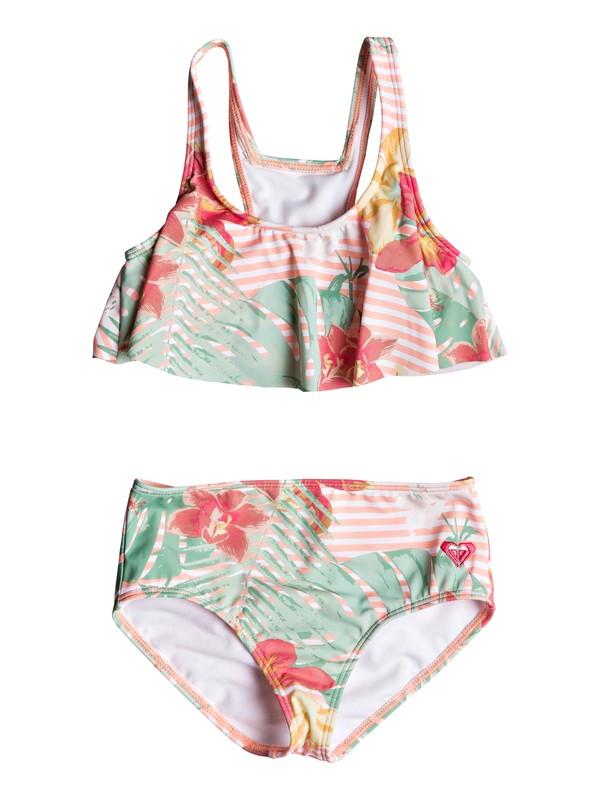0 Conjunto de Bikini con movimiento Lush Florals Rosa ERLX203070 Roxy