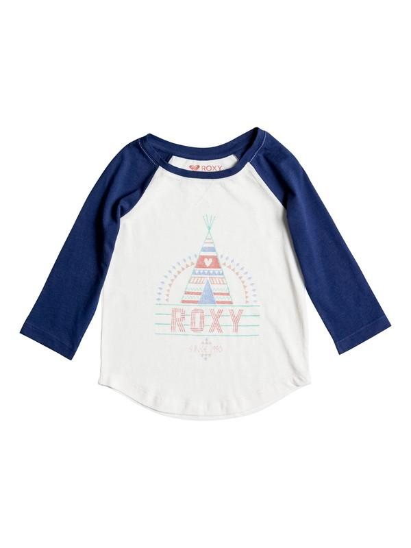 0 Niñas 2-6 Camiseta Manga Larga  Dry The Rain  ERLZT03074 Roxy