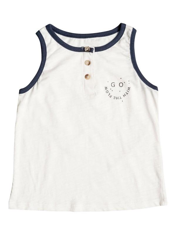 0 Girl's 2-6 Create Your Garden Tank Top White ERLZT03084 Roxy