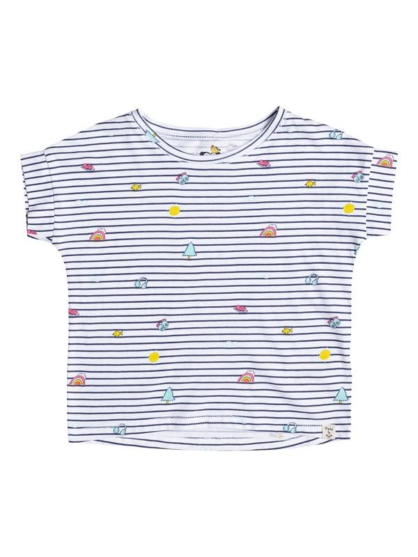 0 Happy Palm - T-Shirt Yellow ERLZT03085 Roxy