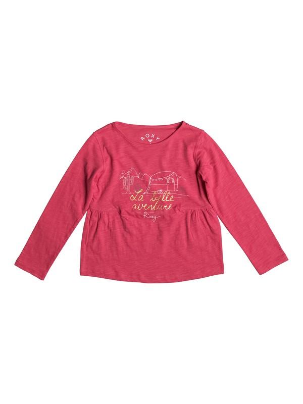 0 Let's Drive Away - Long Sleeve Top Pink ERLZT03086 Roxy