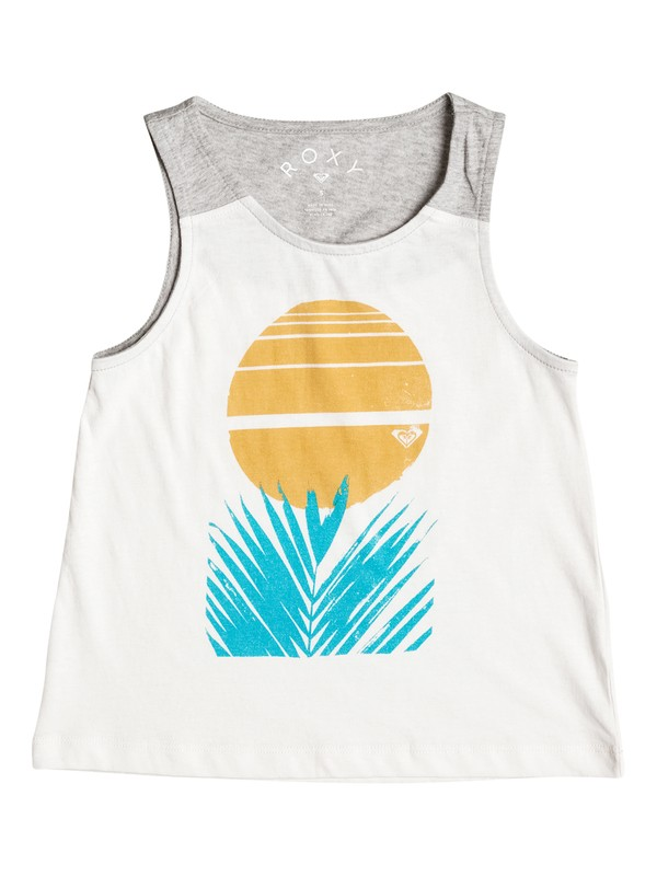 0 Girl's 2-6 Collect Moments Palm Tank Top  ERLZT03096 Roxy